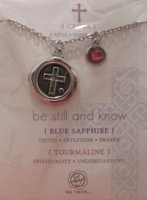 """Be Still and Know"" Necklace"