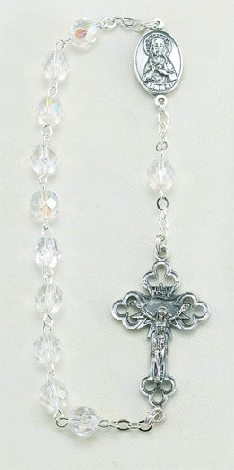 Kant-Tangle Crystal Bead Rosary