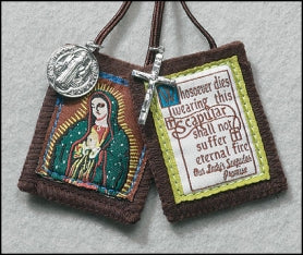 Our Lady of Guadalupe Scapular - Catholic Gifts Canada