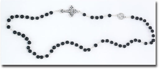 Kant-Tangle Endless Rosary in Black