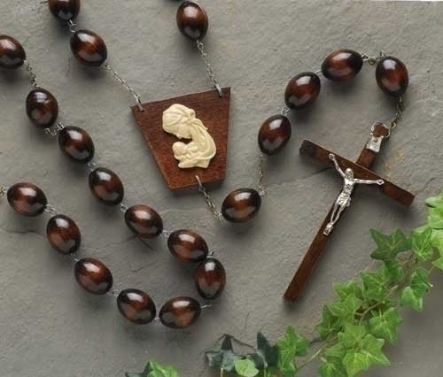 Wood Wall Rosary