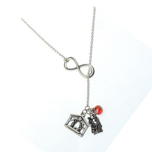 Nativity Infinity Necklace