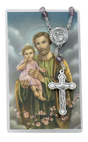 St. Joseph Auto Rosary & Prayer Card