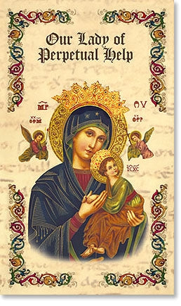 Our Lady of Perpetual Help Prayer Folder