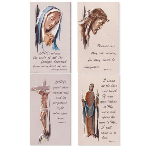 Holy Card Assortment for Sorrowful Times