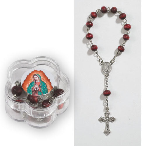OLO Guadalupe One Decade Scented Rosary