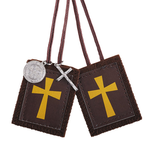 Crusader Scapular with Medals