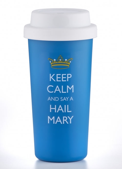 Keep Calm/Hail Mary Travel Mug
