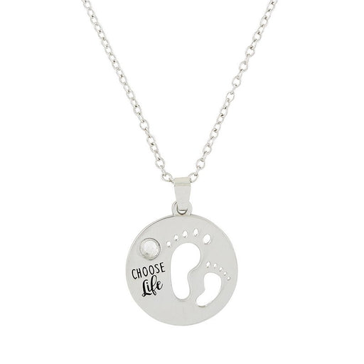 Choose Life Necklace - Catholic Gifts Canada