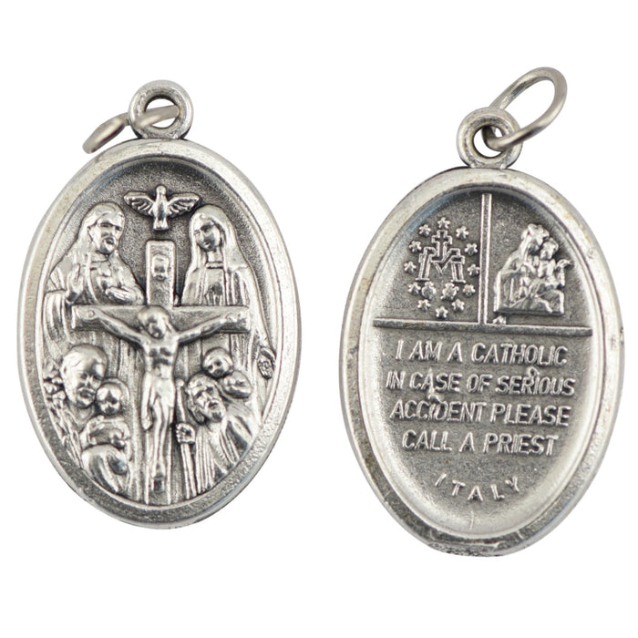Four Way/I am a Catholic Medal