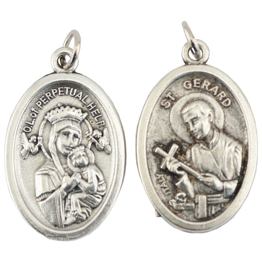 Saint Gerard/Our Lady of Perpetual Help Medal - Catholic Gifts Canada