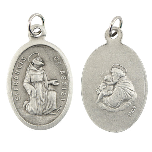 Saint Francis/Saint Anthony Medal - Catholic Gifts Canada