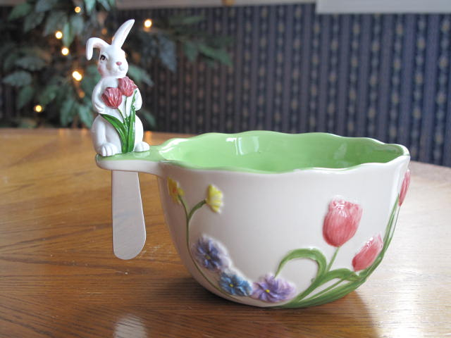 Bunny Bowl & Spreader