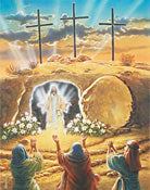 He Is Risen Easter Countdown Calendar