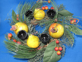 Harvest Advent Wreath