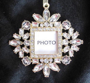Jewelled Frame Ornament - Style 1