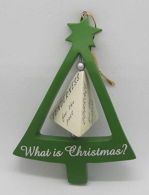 """What is Christmas?"" Ornament"