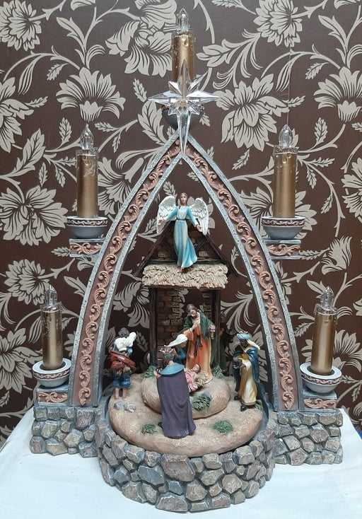 Musical Lighted Nativity
