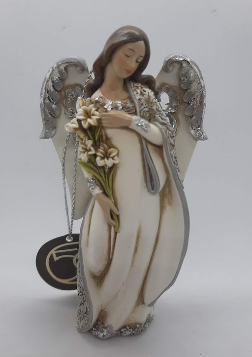 Angel with Lily Ornament