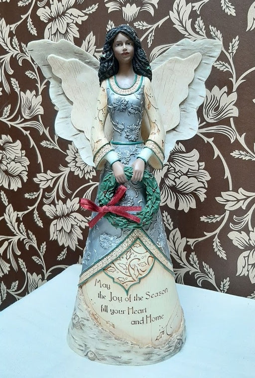 Christmas Angel with Wreath
