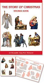 Story of Christmas Sticker Book