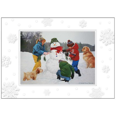 Christmas Friends Premium Boxed Cards