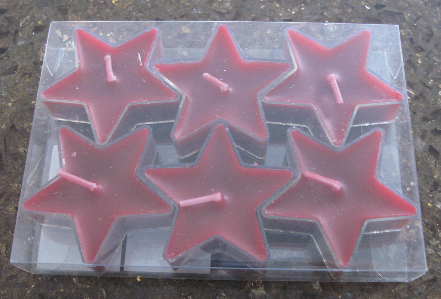 Red Star Tealights