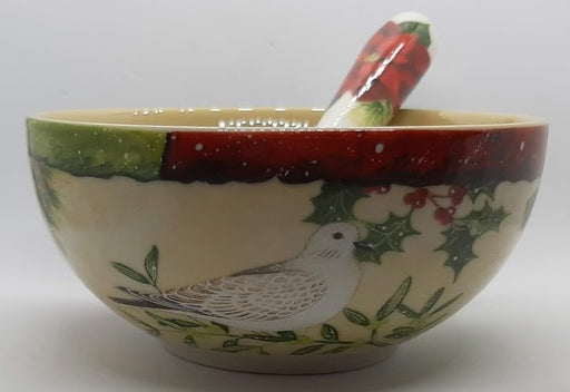 Winter's Harmony Bowl & Spreader