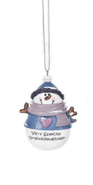 Very Special Granddaughter Ornament