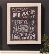 No Place Like Home Chalkboard Plaque