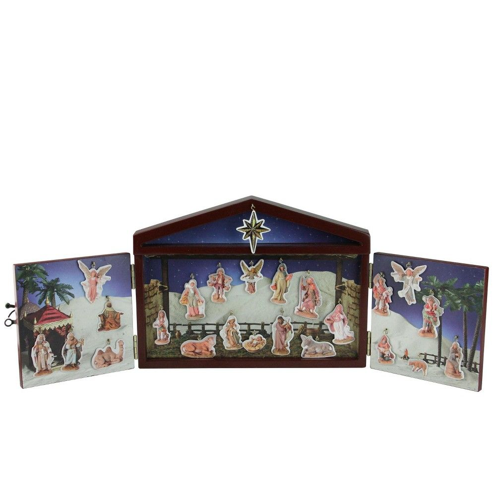 Fontanini Reusable Advent Calendar Set