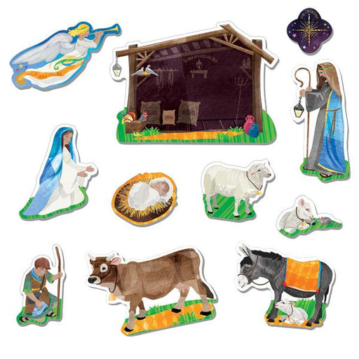 Nativity Magnet Set from Wee Believers