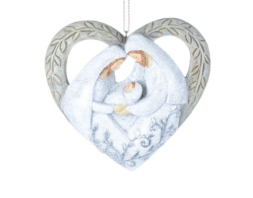 The Holy Family's Love Ornament