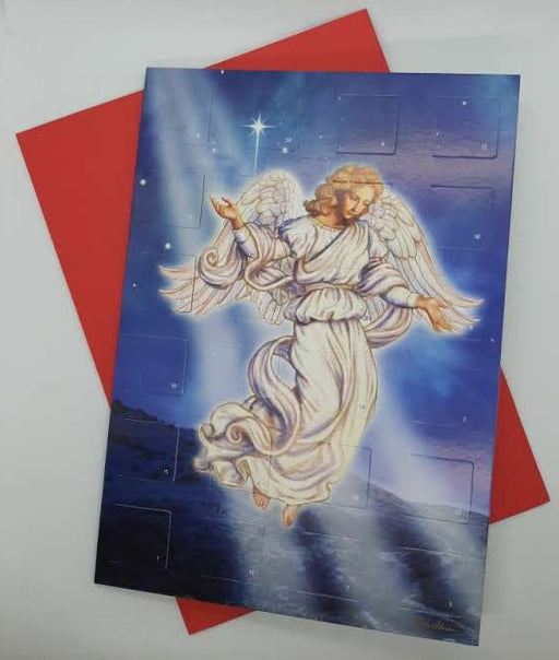 Advent Calendar Card - Angel - Catholic Gifts Canada