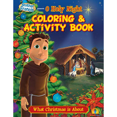 Brother Francis O Holy Night Colouring Book