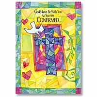Colourful Confirmation Card