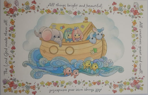 Precious Moments Baptism Card