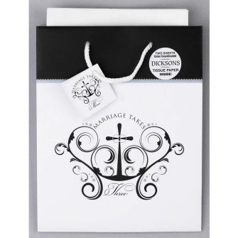 Marriage Takes Three Gift Bag