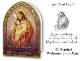 Deluxe Good Shepherd RCIA Card