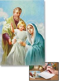Holy Family Notecards - Set of 10