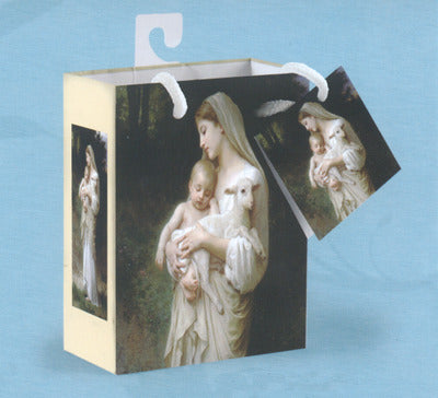 L'Innocence Gift Bag with Tissue - Catholic Gifts Canada