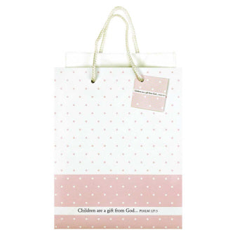 Children are a Gift Pink Gift Bag