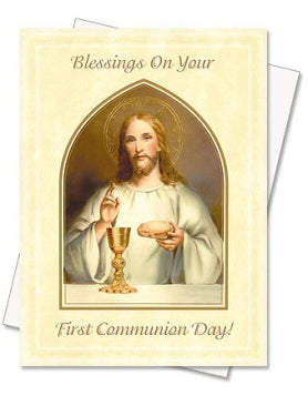 Communion Blessings Card