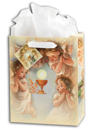 Cherub Communion Gift Bag (Medium)