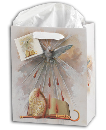 Small Dove of Confirmation Gift Bag