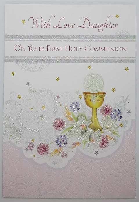 With Love Daughter On Your First Communion