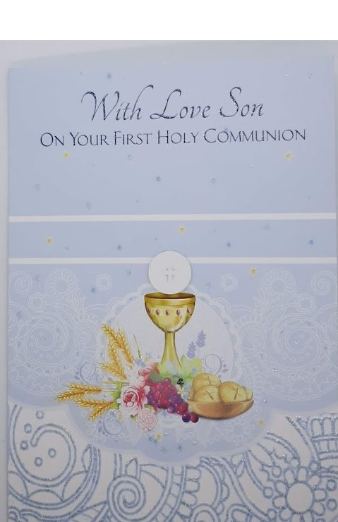 With Love Son On Your First Communion