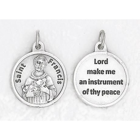 Double Sided St. Francis Medal