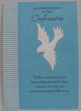 Someone Special Confirmation Card