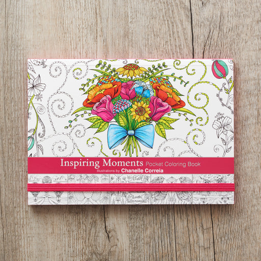 Inspiring Moments Pocket Colouring Book